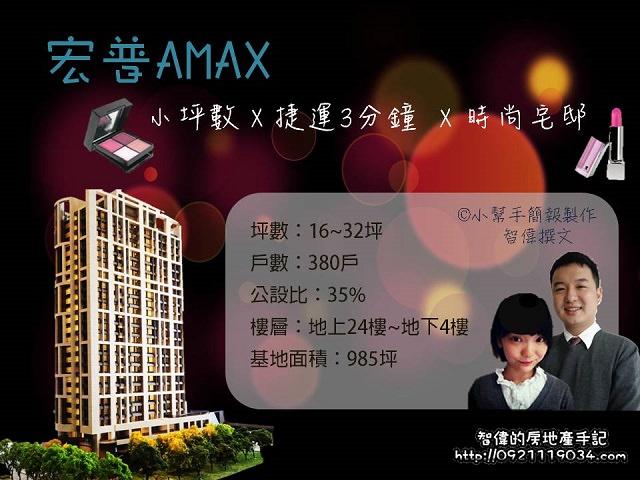 新莊指標建案-宏普AMAX