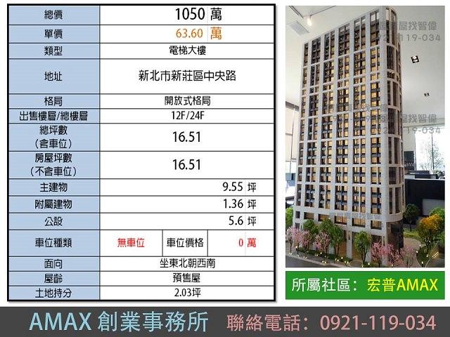 電梯物件推薦-AMAX創業事務所 [新莊]