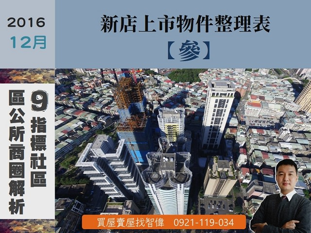 12月上市案件整理-區公所商圈等9社區